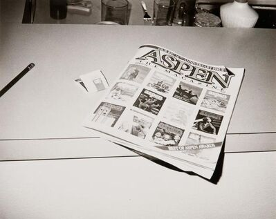 Andy Warhol, 'Andy Warhol, Photograph of Aspen Magazine, 1984', 1984