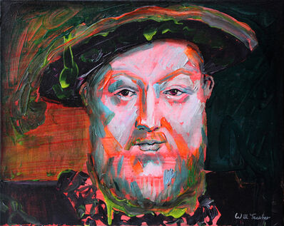 Will Teather, 'King Henry VIII (after Holbein)', 2019