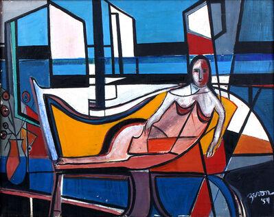 Irene Zevon, 'Reclining Figure', 1954