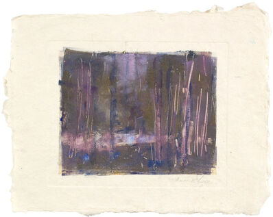 Thomas McNickle, 'LAVENDER AND PUDDLE', 2013