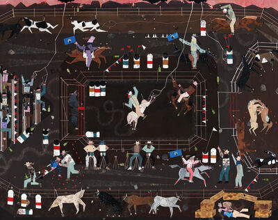Andrea Joyce Heimer, 'The Big Sky Rodeo Finals That Summer Were Marked By A Flash Lightning Storm, A Horse Fight, And My First Handjob In A Haystack.', 2019