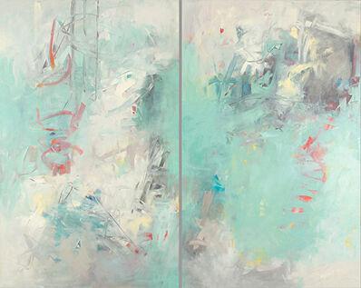 Karen Scharer, 'Bayside (Diptych)', 2019