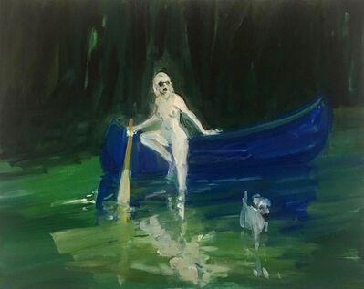 Deborah Brown, 'Blue Canoe', 2020