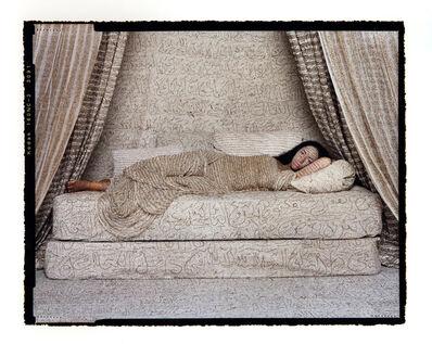 Lalla Essaydi, 'Les Femmes du Maroc: Reclining Odalisque #2', 2008