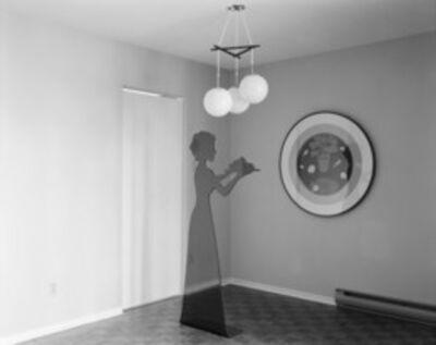 Lynne Cohen, 'Model Dining Room'