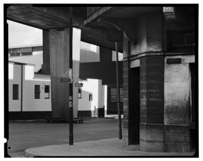 David Goldblatt, 'On the street corner of Pim and Goch Streets, under the M1, Newtown', 1975