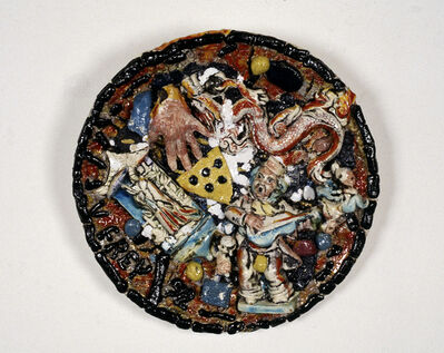 Viola Frey, 'Untitled Plate #16 ', 1992