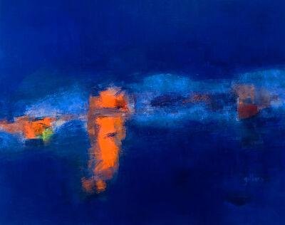 Alain Gilberg, 'Série Bleue 3', 2016