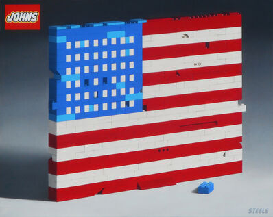 Ben Steele, 'Jasper Johns Flag', 2020