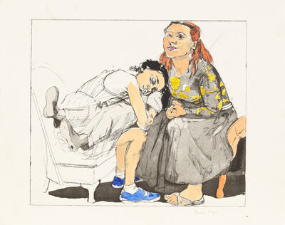Paula Rego, 'After Hogarth II'