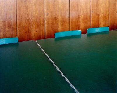 Lukas Einsele, 'Museumstisch mit Stühlen', 2008