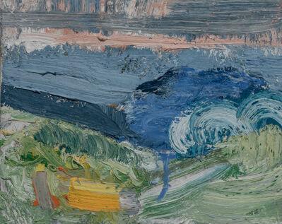 John Santoro, 'Beach Terrain: Wave', 2017