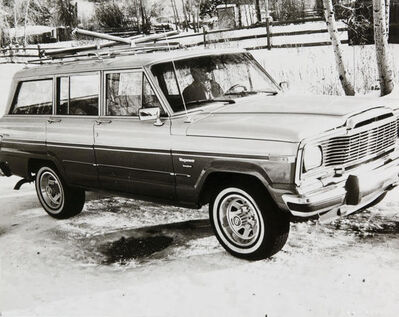 Andy Warhol, 'Andy Warhol, Photograph of a Jeep Wagoneer in Aspen, 1980s', 1980s
