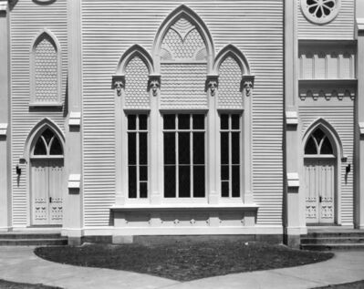 Wright Morris, 'White Church Facade, Rahway, New Jersey', 1940