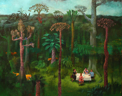 Sylvain Lefebvre, 'A Tea in the Carboniferous Forest', 2021