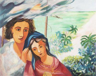Cícero Dias, 'Figuras com Mar ao Fundo', 1950-1960
