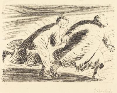 Ernst Barlach, 'The Fugitives', 1916/1917