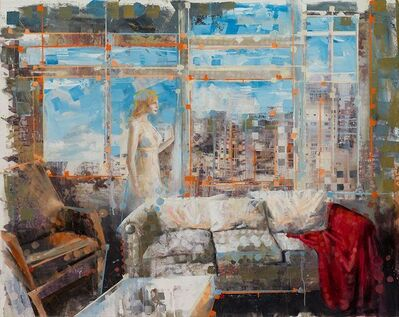 Martin Riwnyj, 'La carta no llega', 2014