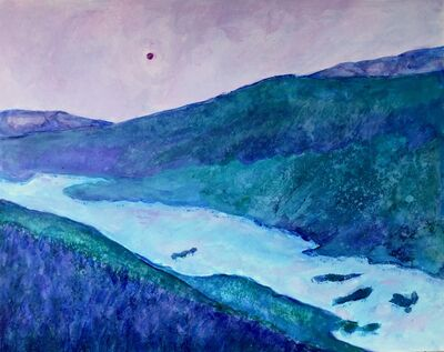 Randa Dubnick, 'Overlook at Sapphire Point', 2020