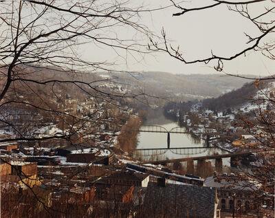 Joel Sternfeld, 'Monongahela River, Grafton, West Virginia, February', 1983
