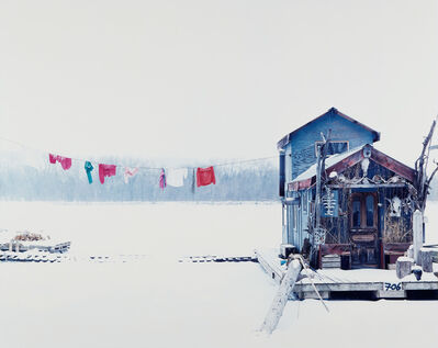 Alec Soth, 'Peter's Houseboat, Winona Minnesota', Photographed in 2002 and printed in 2004