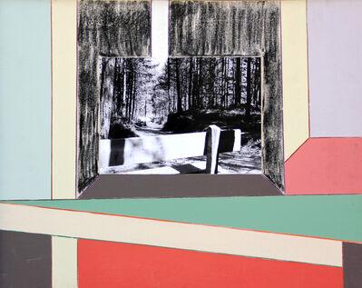 Renato Mambor, 'Nei pressi del bosco', 2007