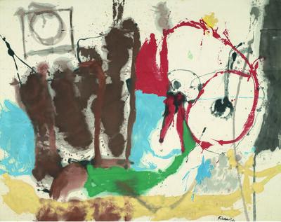 Helen Frankenthaler, 'Mother Goose Melody', 1959