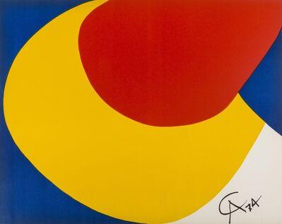 Alexander Calder, 'Skyswirl, Beastie, Convection', 1974