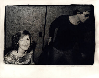 Andy Warhol, 'Andy Warhol, Photograph of Catherine Guinness and Lou Reed circa 1977', ca. 1977