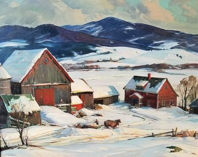 Aldro Thompson Hibbard, 'Winter Vermont', ca. 1932