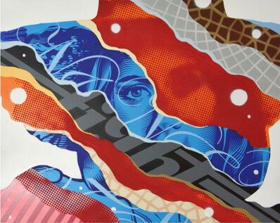 Tristan Eaton, 'CRIME FIGHTER 1', 2014