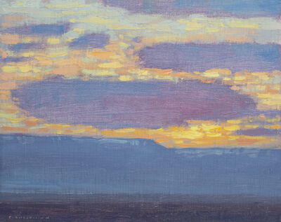 David Grossmann, 'Sunrise Clouds Over the Mesa', 2020