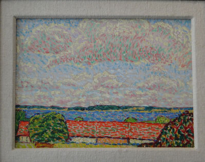 "Hans Michaelson, '""Seelandschaft mit hohem Himmel""', 1909-1912"