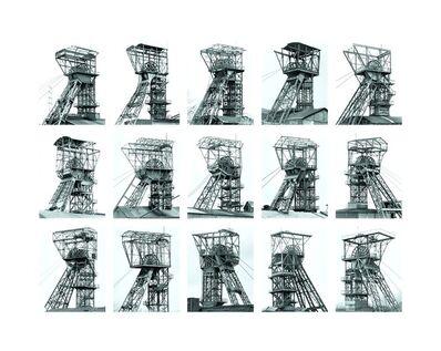 Bernd and Hilla Becher, 'Winding Towers', 2006