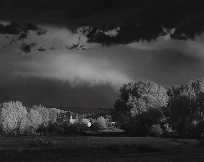 Ansel Adams, 'Autumn Storm, Las Trampas, Near Penasco, NM', Neg: 1958-print 1981