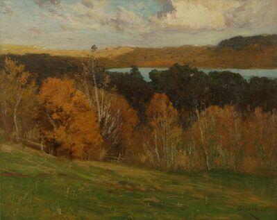 Franklin De Haven, 'Fall Hillside', ca. 1910