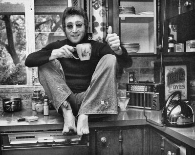 Michael Brennan, 'John Lennon in Beverly Hills', 1973