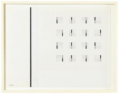 Carlos Cairoli, 'Carrés dynamisés en alternance n°2', 1966