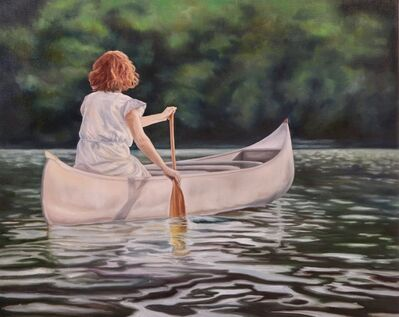 Kendra Lynn Bulgrin, 'Silently Drifting Away', 2019