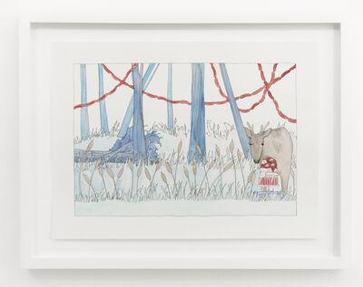 Dana Sherwood, 'Deer and Cake', 2015