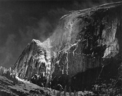 Ansel Adams, 'Half Dome, Blowing Snow, Yosemite National Park, CA', ca. 1955