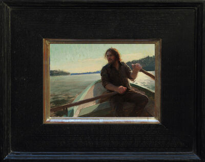 Jeremy Lipking, 'Self Portrait as a Zorn Painting', 2013