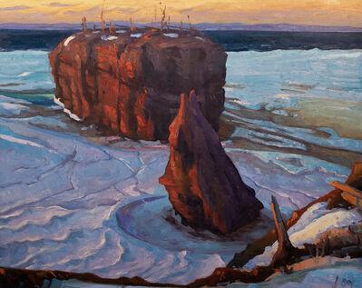 Réjean Roy, 'Le rocher de Pokeshaw', 2019
