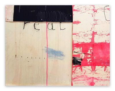 Manuela Karin Knaut, 'Real Reasons for Ice and Lemon (Abstract painting)', 2020