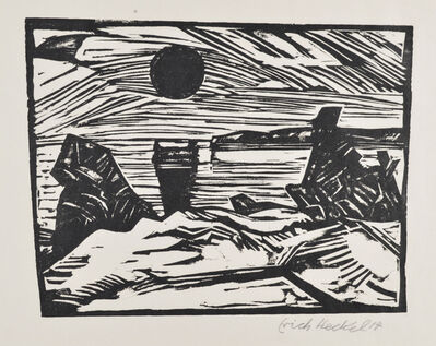 Erich Heckel, 'Sunrise', 1914