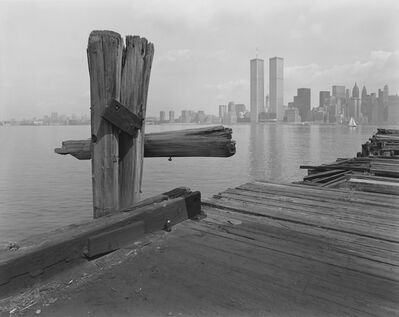 George Tice, 'Hudson River Pier, Jersey City, New Jersey', 1979