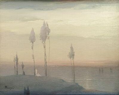 Leon Dabo, 'Untitled, Hudson River Scene', ca. 1915