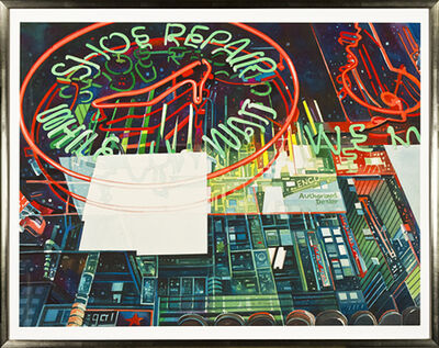 Bruce McCombs, 'Shoe Repair Window', 2001