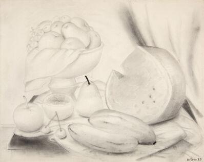 Fernando Botero, 'Still life', 1973