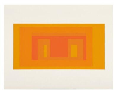 Josef Albers, 'I-S VA 4  (from Six Variants suite)', 1969